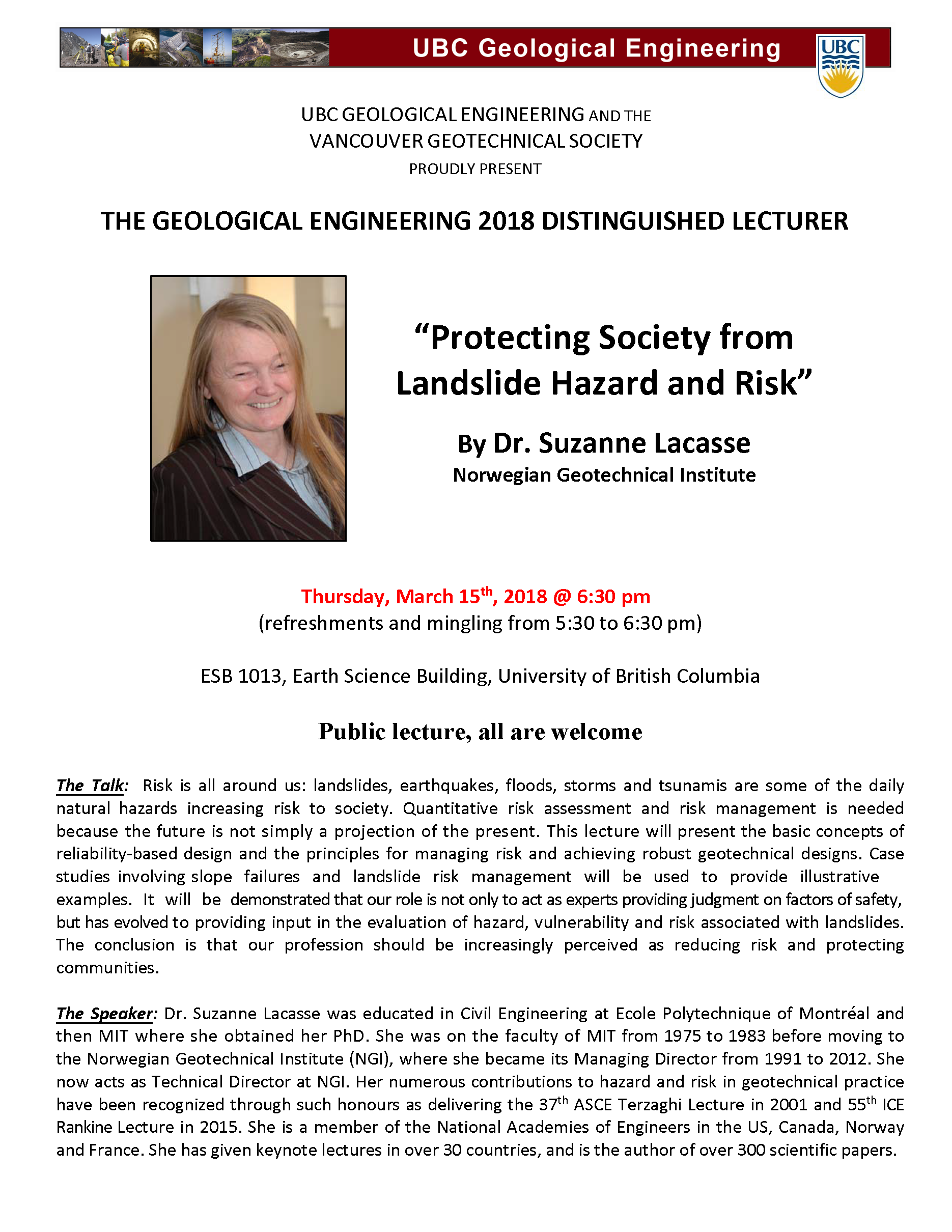 GEOE Distinguished Lecture